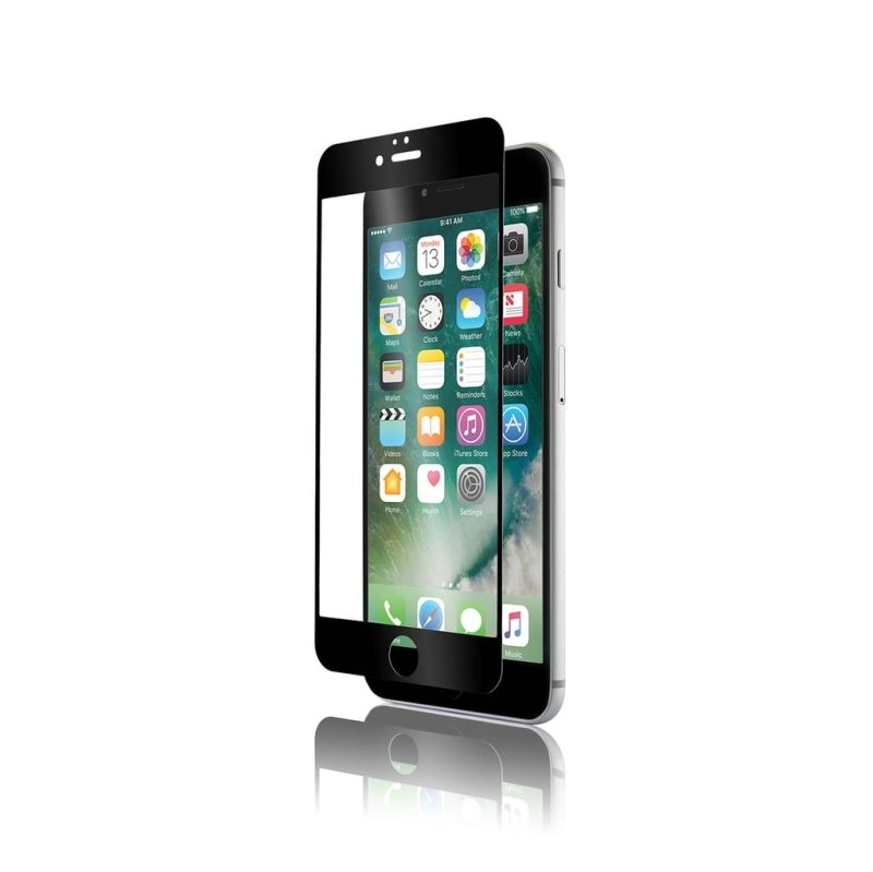 OptiGuardt Black - Screen Protector Iphone 7 Plus