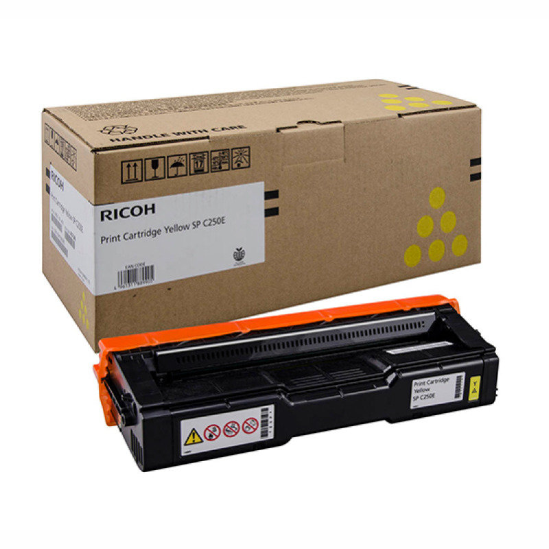 Print Cartridge Yellow Sp C250e (1.6k)