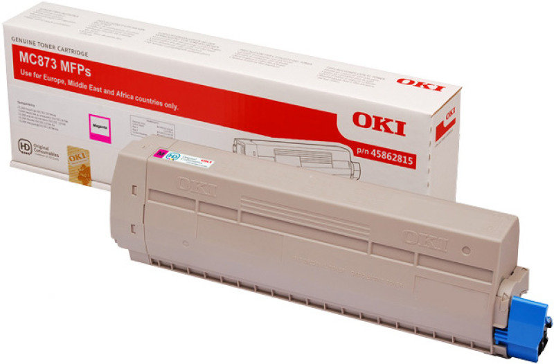 OKI 45862815 Magenta Toner Car