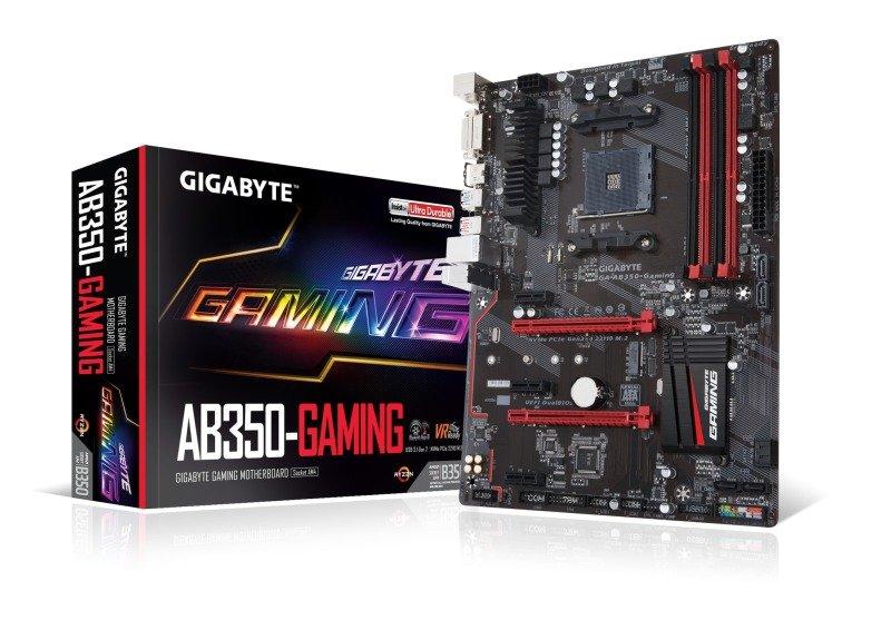Gigabyte AMD AB350-GAMING AM4 Socket ATX Motherboard