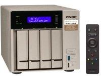 QNAP TVS-473-64G 4TB (4 x 1TB WD RED) 4 Bay Desktop NAS with 64GB RAM