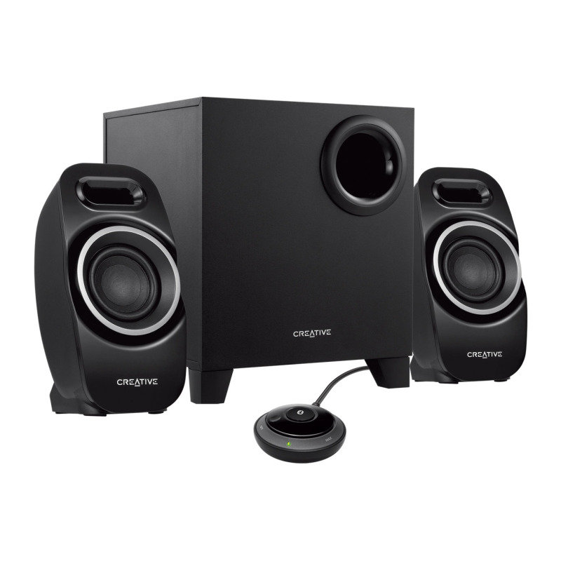 Creative T3250 Wireless 2.1 Wireless Bluetooth Desktop Speaker System
