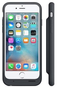 Apple iPhone 6s Smart Battery Case - Charcoal Grey