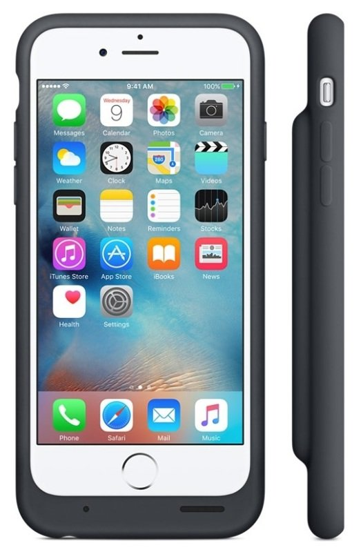 Buy Brand New Apple Iphone 6s Smart Battery Case - Charcoal Gray