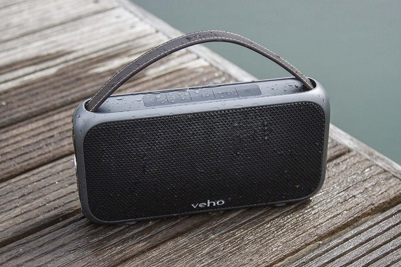 Bluetooth Wireless Speaker With Built-in Power Bank