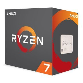 AMD Ryzen 7 1700 8 Core AM4 CPU/Processor with Wraith Spire 95W cooler