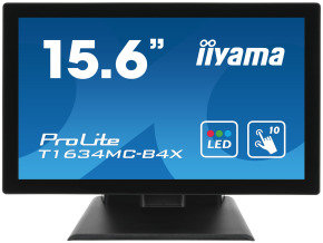 "Iiyama T1634MC-B4X 15.6"" 10 Point Touch Monitor"