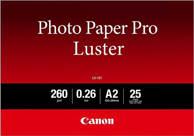 Canon Photo Paper Pro Luster A2
