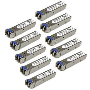 Startech.com Gigabit Fiber SFP Transceiver Module SM/MM LC 10 Pack