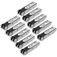 Startech.com Gigabit Fiber SFP Transceiver Module MM LC 10 Pack