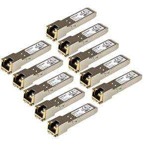Startech.com Gigabit RJ45 Copper SFP Transceiver Module 10 Pack