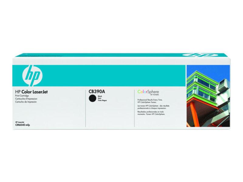 *HP 825A Black Toner Cartridge - CB390A