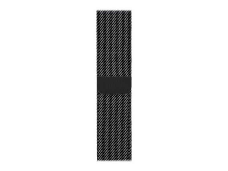 Apple 42mm Milanese Loop - Watch strap - space black - for Watch (42 mm)