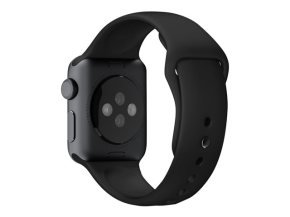 Apple 38mm Sport Band - Watch strap - black - for Watch (38 mm)