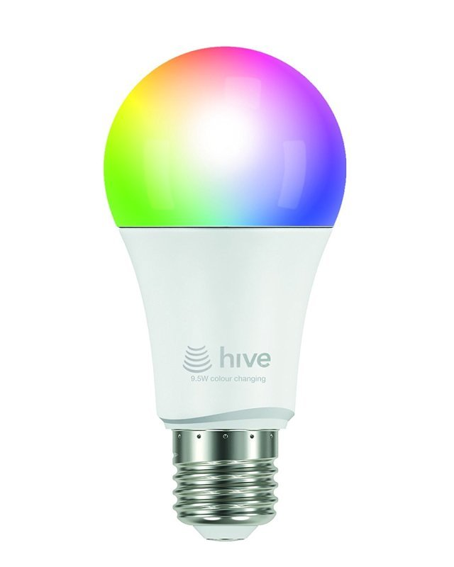 hive active light 9w colour changing screw fit ebuyer. Black Bedroom Furniture Sets. Home Design Ideas