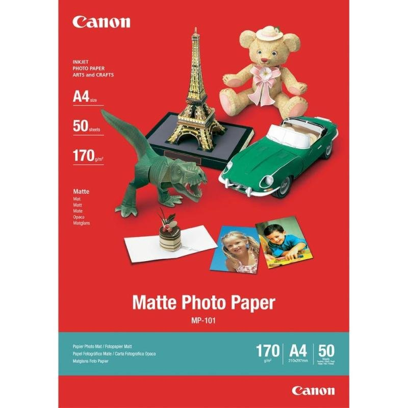 Canon A4 Photo Paper 170gsm Matte (Pack of 50)