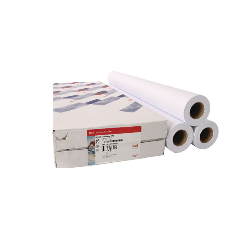 Canon Uncoated Draft Inkjet Paper 841mm x 91m