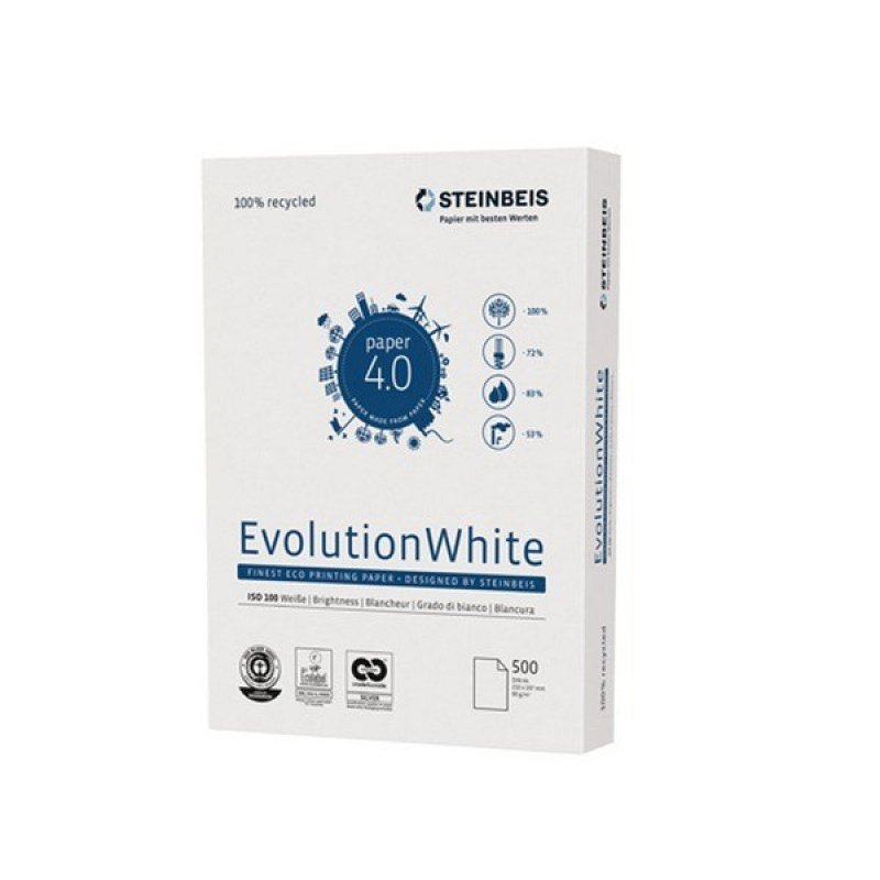 STEINBEIS EVOLUTION WHITE A4 80GSM PK5