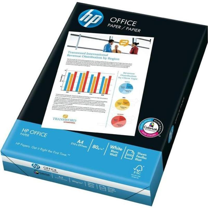 Hp Office A4 80gsm 87925 (500 Sheets) - (pk5)