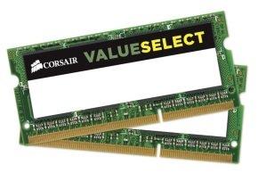 Corsair 8GB (2x4GB Kit) DDR3L 1600MHZ 204 SODIMM Unbuffered