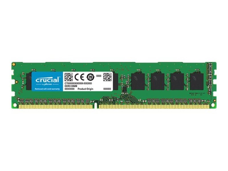 Crucial 8GB DDR3-1866 ECC UDIMM Memory for Mac