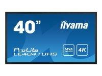 "Iiyama ProLite LE4041UHS-B1 40"" 4K Large Format Display"