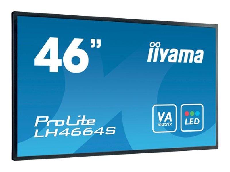 "Iiyama LH4664S-B1 46"" Full HD Large Format Display"