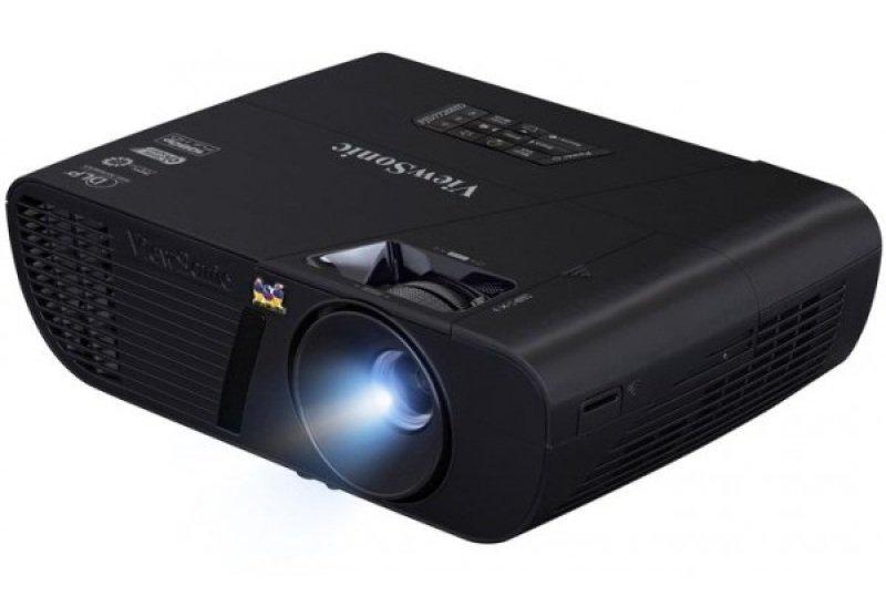 Viewsonic Pjd7720hd Full Hd 1080p (1920x1080)  3200 Lumens  22 000:1 Contrast  Darkchip3  144hz 3d  Optional Wireless (wpg-300 Hdmi Wifi Dongle)  New Curved Design