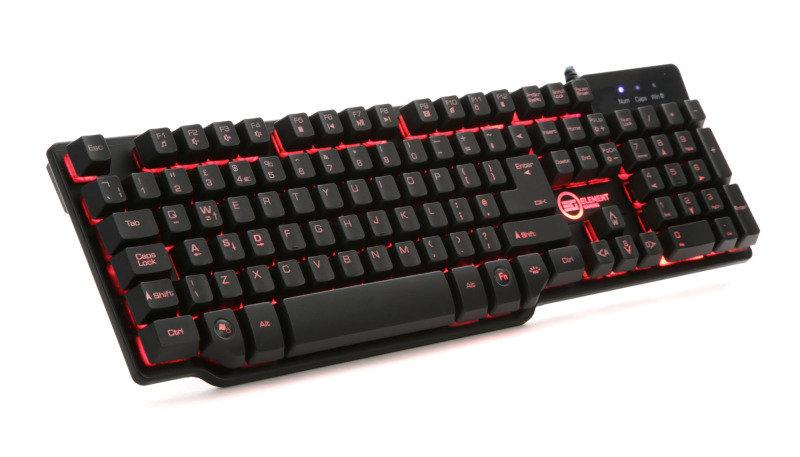 Image of EG Illuminated Mechanical Feel Gaming Keyboard