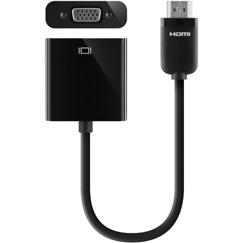 Adapter HDMI to VGA W/3.5mm audio