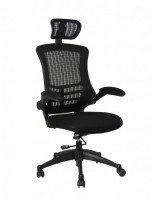 HH Solutions Spider Executive Mesh Back Office Chair - Black