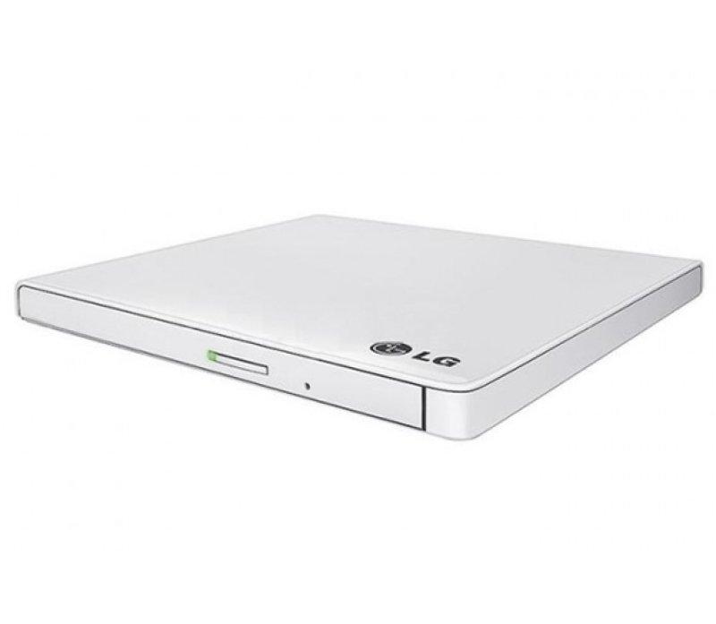 LG GP60NW60 8x DVD-RW USB 2.0 White Slim External Drive