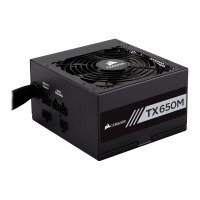 Corsair 650W TX650M Gold Hybid Modular Power Supply/PSU