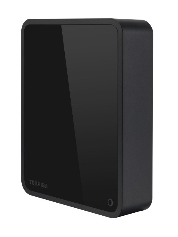 "Toshiba Canvio Desktop 3TB 3.5"" USB 3.0 External Hard Drive Gloss Black"