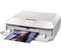 Canon Pixma MG7751 All-in-One Wireless Inkjet Printer - White Version