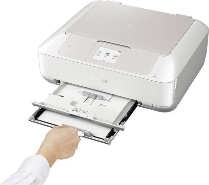 Canon Pixma MG7750 All-in-One Wireless Inkjet Printer - White Version
