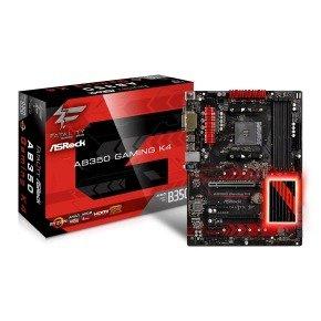 ASRock AMD AM4 Ryzen AB350 Gaming K4 ATX Fatal1ty...