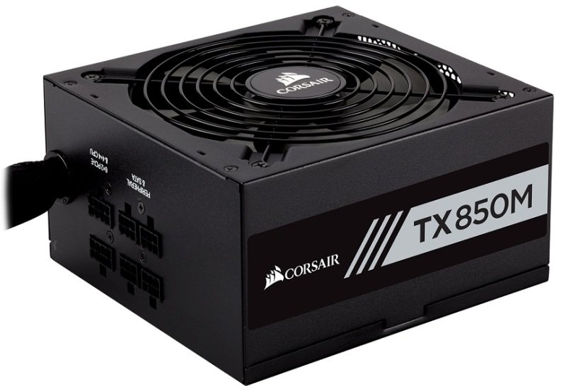 Corsair TX850M  80 PLUS Bronze Certified 850 Watts