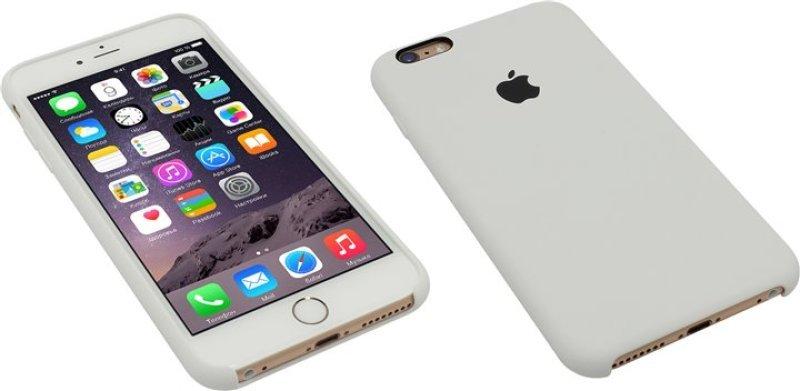 Apple iPhone 6 Plus   6s Plus Silicone Case - White  ff5069f1661