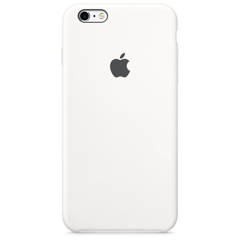 release date: 5b095 e844c Apple Silicone Back Cover Case for iPhone 6/6S - White