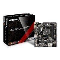 ASRock AMD AB350M HDV AM4 mATX Motherboard