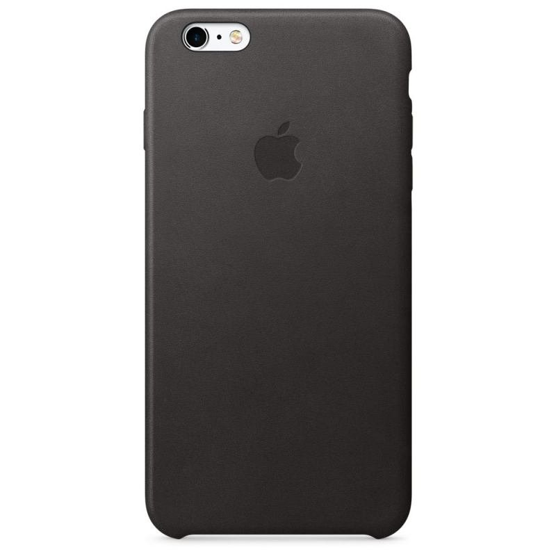 Apple iPhone 6s Plus Leather Case Black