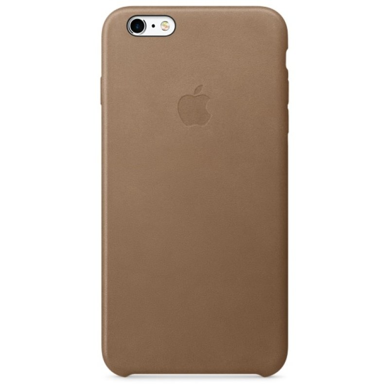 iPhone 6s Plus Leather Case Brown
