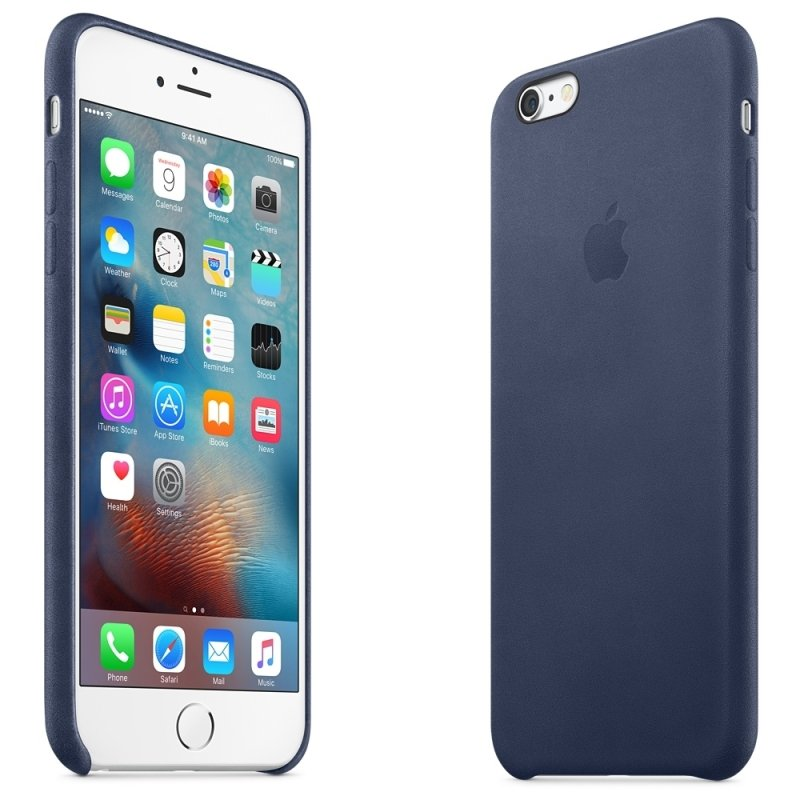Apple iPhone 6s Plus Leather Case Midnight Blue