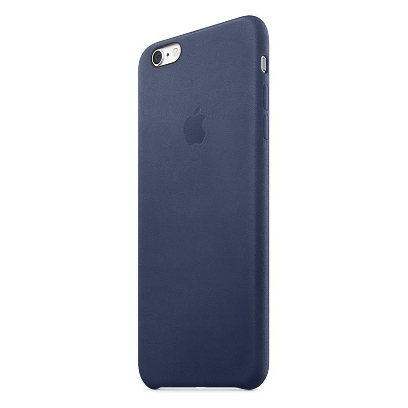 promo code db624 be45f Apple iPhone 6s Plus Leather Case Midnight Blue