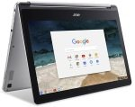 £455.99, Acer Chromebook R 13 (CB5-312T) - Silver, MediaTek M8173C 2.1GHz, 4GB RAM + 64GB Flash, 13.3inch FHD Touchscreen, Webcam + Bluetooth, WIFI + Chrome OS,