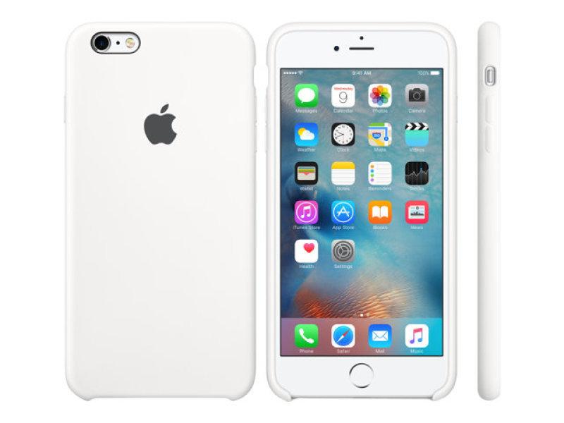 Apple iPhone 6 Plus / 6s Plus Silicone Case - White