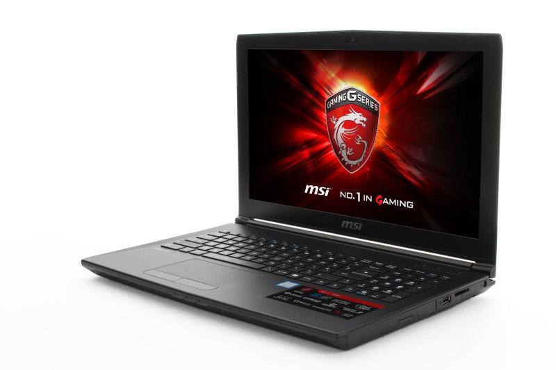 MSI GL62 7QF Gaming Laptop + Backpack