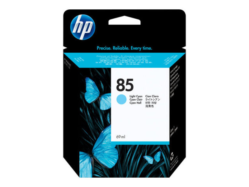 HP 85 69ml Light Cyan Ink Cartridge - C9428A