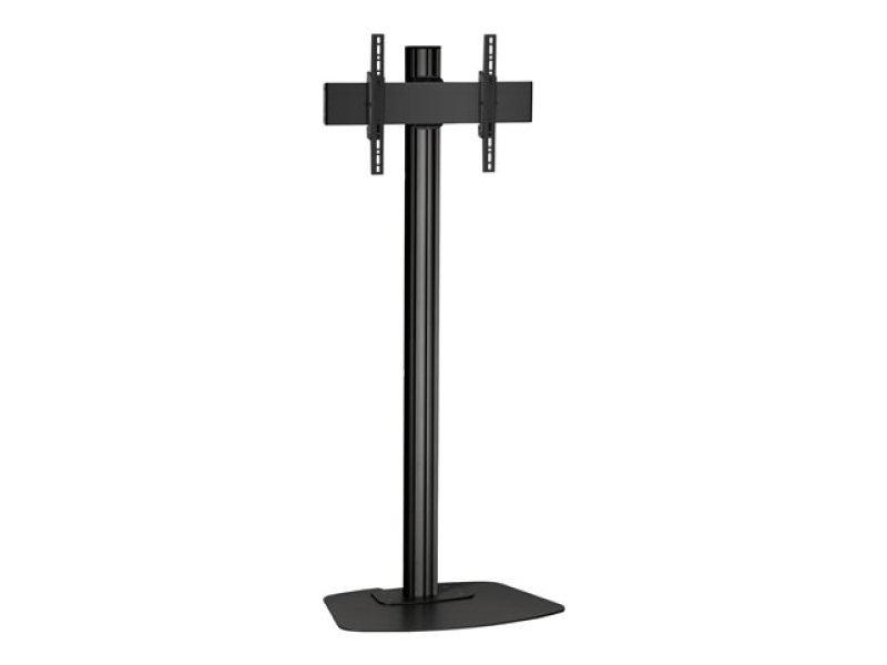F1544 B/1.5m floor stand, for displays up to 65, max VESA 400 x 400, max weight 80kg - Black